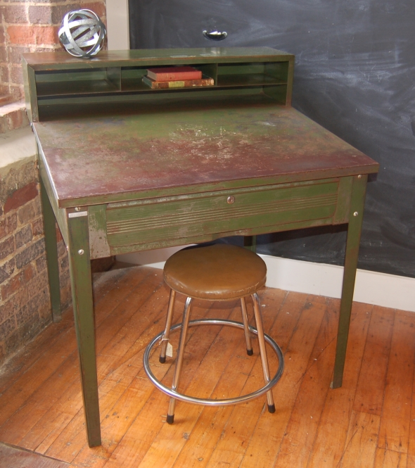 Small Metal Industrial Desk & Yellow Chair Market » Small Metal Industrial Desk islam-shia.org
