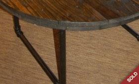 Spool Top Coffee Table