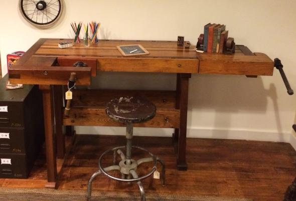 workbench desk furniture vintage workbench desk sold next previous