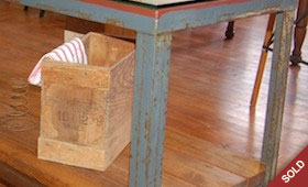 Industrial Buffet/Hall Table
