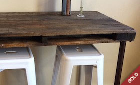 Industrial Pallet Desk/Table/Island