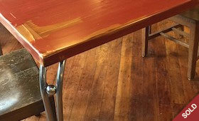 Retro Reclaimed Dining Table