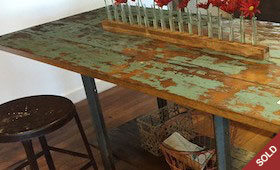 Industrial Workbench Desk/Island